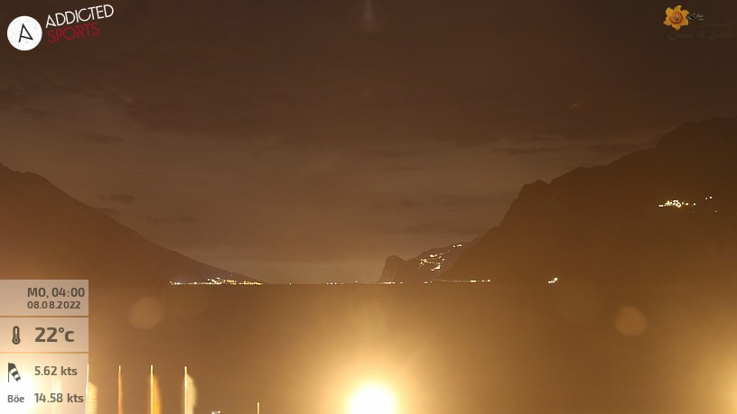 Webcam Torbole Lake Garda Residence Casa al Sole