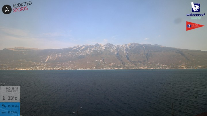 Webcam am Gardasee in Campione