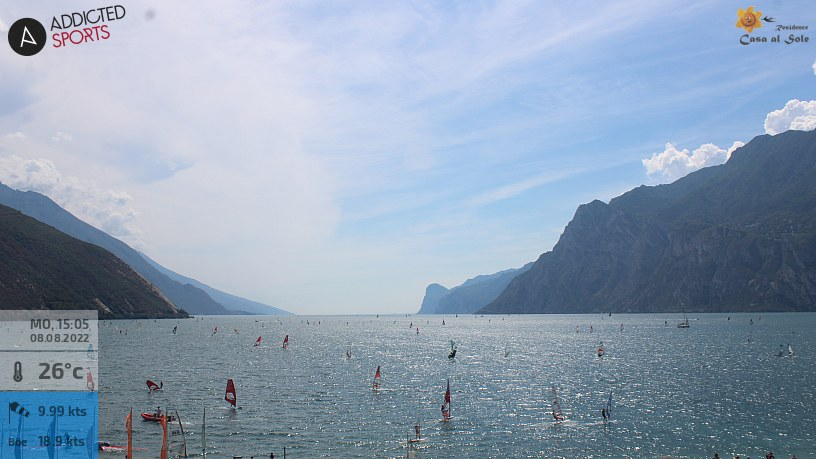 Webcam Torbole Lake Garda Ferienwohnung Casa al Sole
